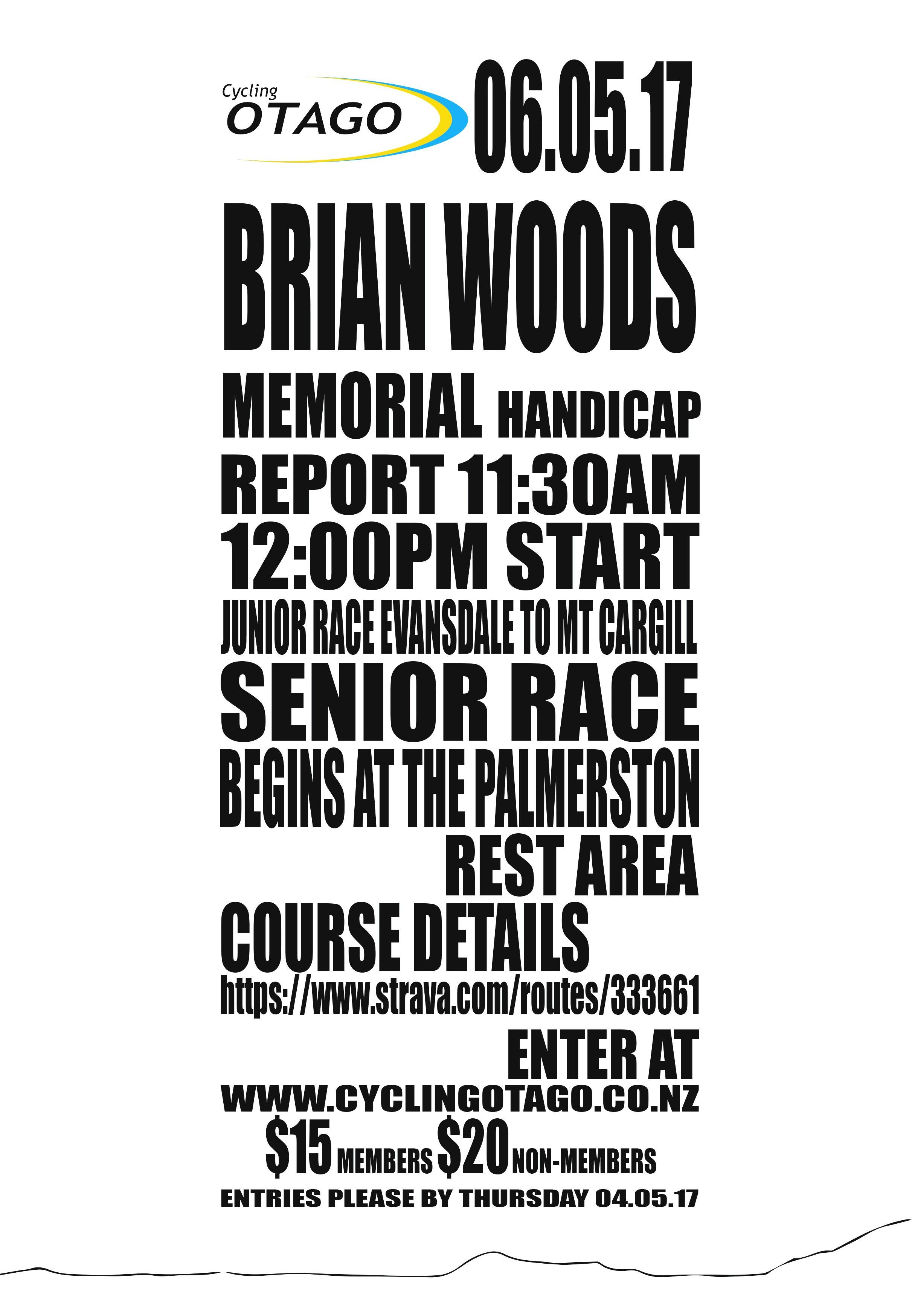 Brian Woods Memorial
