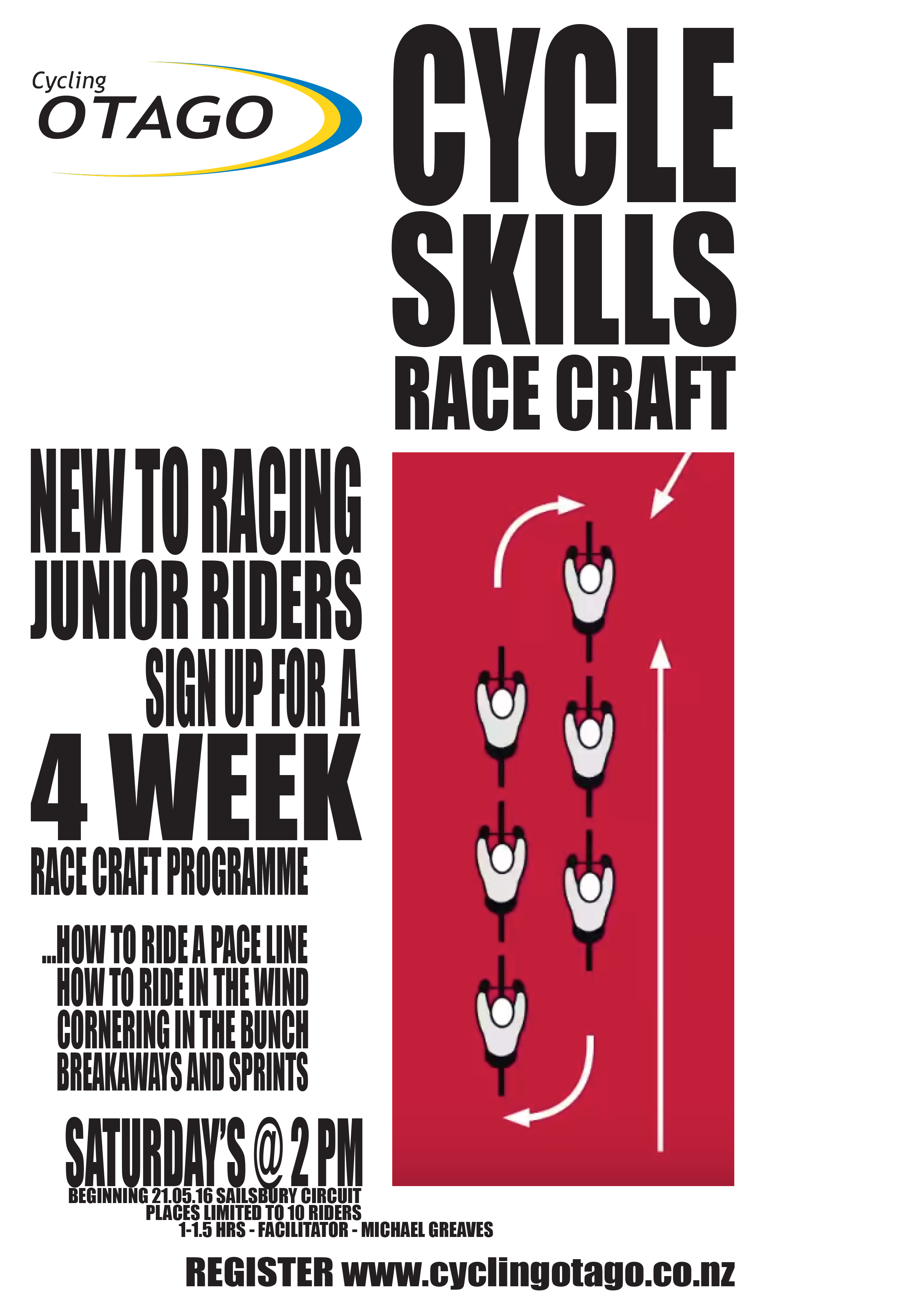 SATURDAY RACE CRAFT SESSIONS